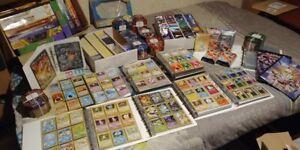 Pokemon-Lot-100-Cartes-NEUVES-100-Francaises-Pas-de-double-CADEAUX-Rares