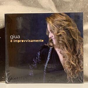 GIUA - E IMPROVVISAMENTE CD NUOVO SIGILLATO 2016 INCIPIT RECORDS