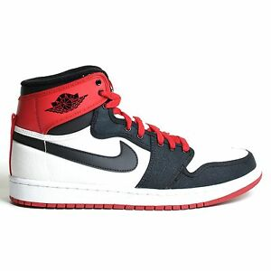 reputable site 0a036 f9f9d Image is loading Air-Jordan-1-Retro-AJKO-HIGH-White-2012-