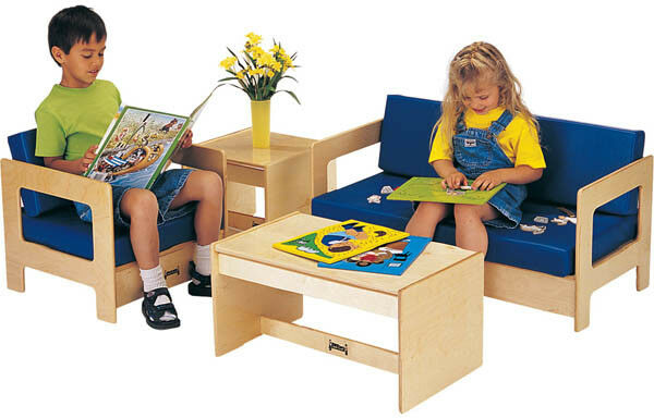 Jonti Craft 4 PC Living Room Play Set in  bluee ID 9143  discount sales