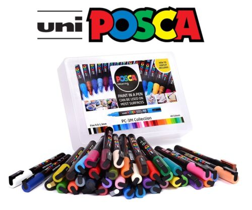 All Sizes /& Sets Posca Paint Marker Collection Uniball Marker Pen Gift Set