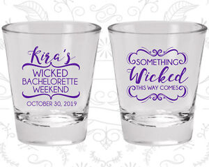Bachelorette Party Shot Glasses Glass Favors (60076) Weekend, Wicked