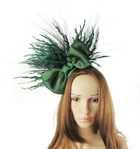 Ascot Promscampione Kentucky Green Fascinator Arny Dark Derby di vendita kXZiOPuT