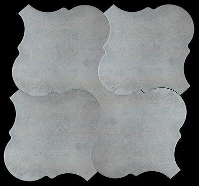 ORDER SAMPLE- CurvyTile Grey | 10.5 x 10.5 Porcelain Tile