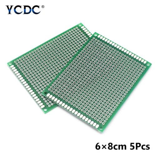 5 10Pcs Duell Sides PCB Leiterplatte Universal Prototyp Brotschneidebrett