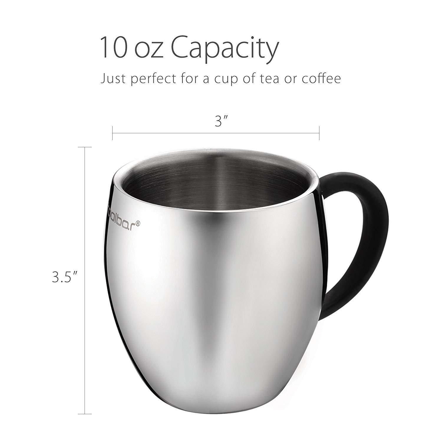LOT of 36pc 36pc 36pc QQ Coffee Mug   Tea Cup Tumbler, 18 10 Stainless Steel Double Wall 5f583b