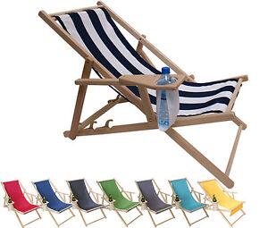 liegestuhl aus holz mit armlehnen und getr nkehalter. Black Bedroom Furniture Sets. Home Design Ideas