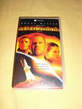 ARMAGEDDON VHS Bruce Willis Ben Affleck Liv Tyler Michael Bay