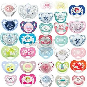 Boy Girl Baby Soother Dummy Pacifier Teat Nipple 0-18m