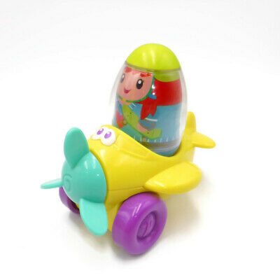 "PLAYSKOOL BRUNETTE BOY Weebles Weeble Wobble 1970/'s  Hasbro Figure Toy 2/"""
