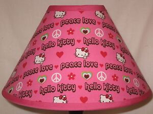 60012c005 Image is loading Hello-Kitty-Peace-Love-Fabric-Children-039-s-