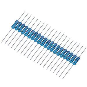 US-Stock-200pcs-2-2K-ohm-2-2Kohm-1-4W-Watt-Metal-Film-Resistor-0-25W-1