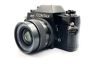 Carl-Zeiss-Distagon-28mm-F2-8-CONTAX-RTS-35mm-SLR-Film-Camera-from-Japan