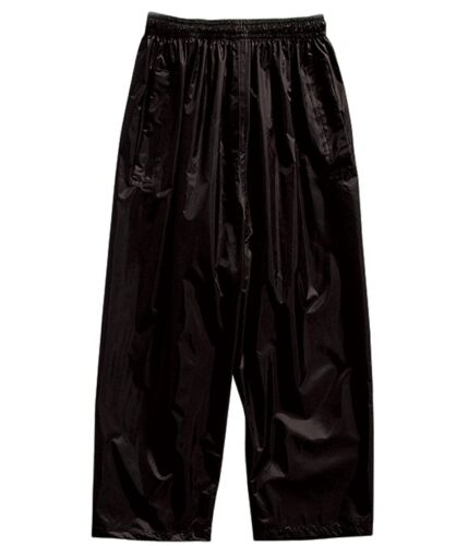 Bnwt Regatta Outdoors Waterproof Trousers Size Large Black