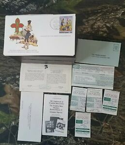 105pc-1982-Franklin-Philatelic-034-Year-Of-The-Scout-034-FDC-Stamp-First-Day-Issue-E2