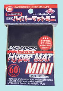 60 Kmc Mini Hyper Mat Blue Small Card Barrier New Matte