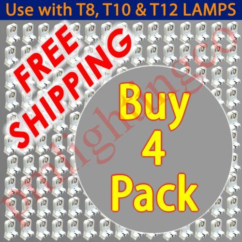 T8 T12 TOMBSTONE LED FLUORESCENT BI-PIN HOLDER LIGHT SOCKET END BASE FIXING 1226