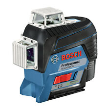 Bosch 360 Degree Connected Green Beam 3 Plane Leveling And Alignment Line Laser