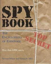 Spy Book: The Encyclopedia of Espionage-ExLibrary