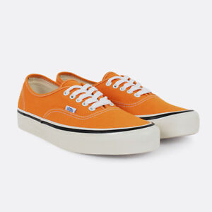 3e3af4650cb Vans Unisex Authentic 44 DX Anaheim Factory OG Gold Orange White ...