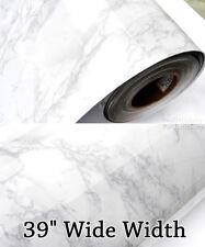"Grey Granite Marble Contact Paper Countertop Cabinet 39"" Wide Width Wallpaper"