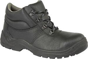 Amblers Safety FS123 Unisex Mens Ladies Steel Toe//Midsole SB Safety Boots Black