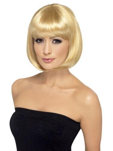 Nouveau Partyrama Perruque Courte Bob femmes élégante robe fantaisie accessoires