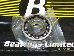 10 pcs 6306 C3 open ball bearing 30x 72x 19 mm