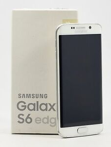 OPEN-BOX-Samsung-Galaxy-S6-edge-SM-G925F-White-FACTORY-UNLOCKED-32GB