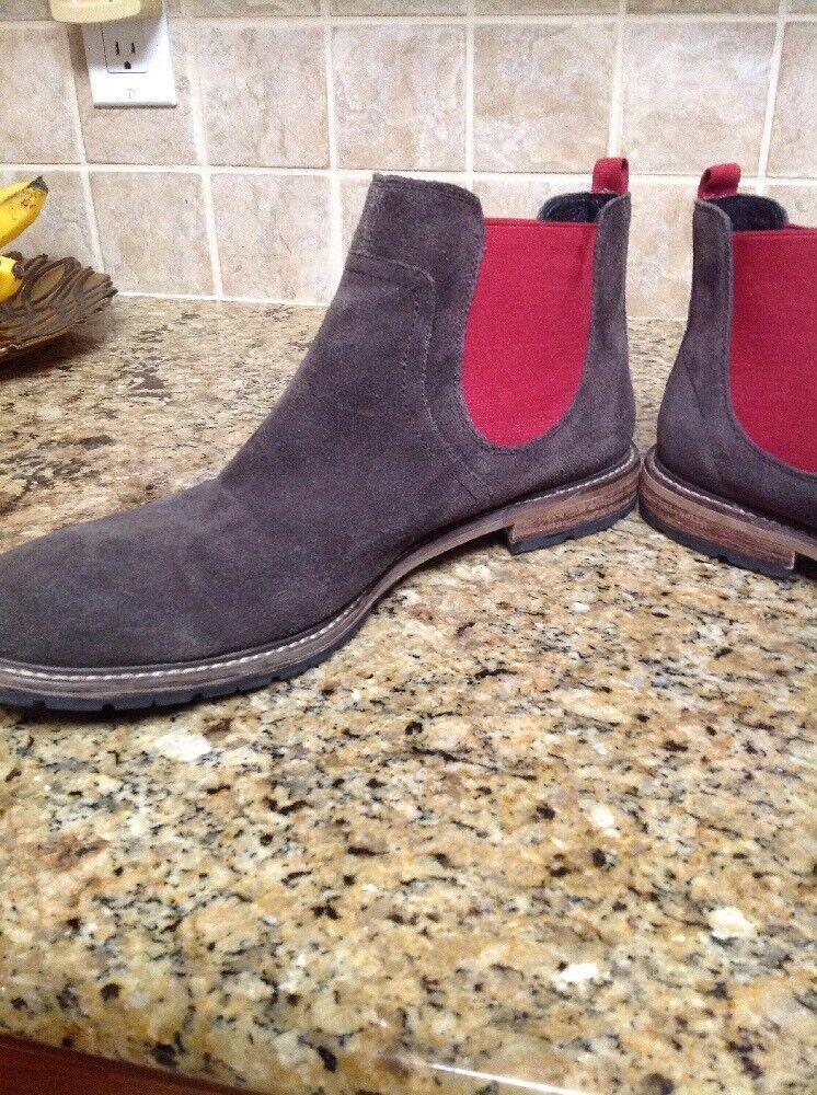 The Rail Kingston Chelsea Stiefel Stiefel Stiefel Suede braun Pull On Größe 12 M   45  Nordstrom db8c45