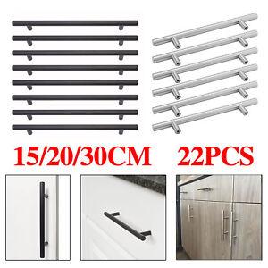Astonishing Details About 22X Brushed Steel T Bar Handles Kitchen Cabinet Door Cupboard Drawer Bedroom Uk Download Free Architecture Designs Pendunizatbritishbridgeorg