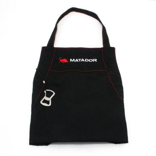 Matador LARGE BBQ APRON Adjustable Neck,Machine Washable,BLACK Cotton *AUS Brand