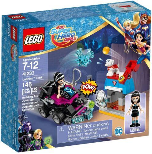 41233 LASHINA TANK super hero girls lego friends set NEW legos KRYPTO freinds
