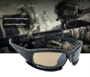 c199820b35e Daisy Tactical Army X7 Glasses   Goggles 4 lens Bulletproof for ...