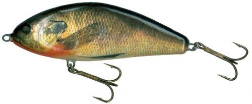 New SALMO FATSO 14 fishing  lure(real sunfish)F14S-RS NORTHERN GIANT MUSKIE 6-10'  fast shipping worldwide
