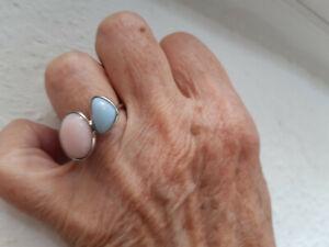 hübscher Ring mit Larimar - 925 Silber - Bad Vilbel, Deutschland - hübscher Ring mit Larimar - 925 Silber - Bad Vilbel, Deutschland