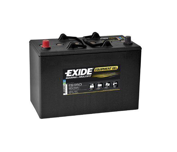 EXIDE Starter Battery EXIDE Equipment GEL ES950