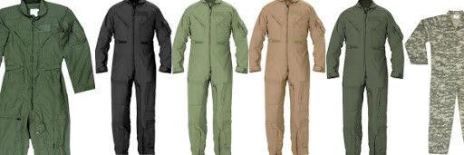Flightsuit Jumpsuit Coverall Air Force Military Mechanic Suit - Different colors