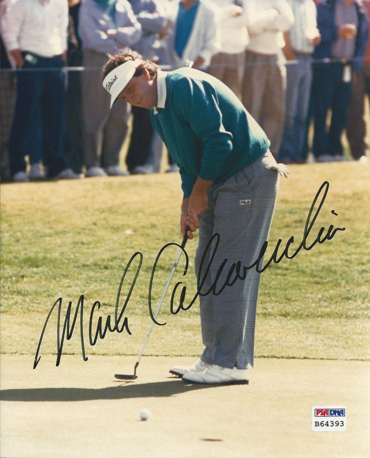 Mark Calcavecchia PGA Golfer signed 8x10 photo PSA/DNA #B64393