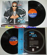 LP WARREN G ADINA HOWARD What's love got to do 45 rpm 12'' 1996  cd mc dvd vhs
