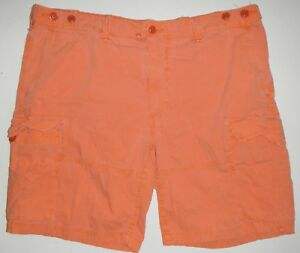 NWT $75 Polo Ralph Lauren Drill Khaki CARGO Shorts Relaxed Fit Mens Cotton NEW
