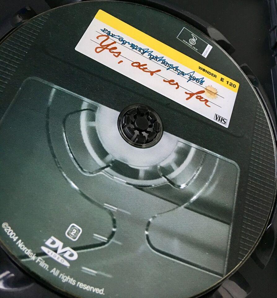 Yes det er far, DVD, komedie