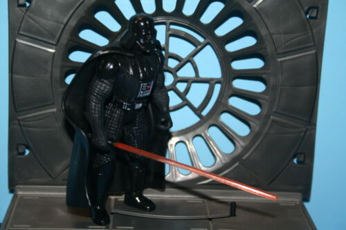 STAR WARS 1995 POTF DARTH VADER LONG ACTION COMPLETE LOOSE FIGURE WEAPON HASBRO