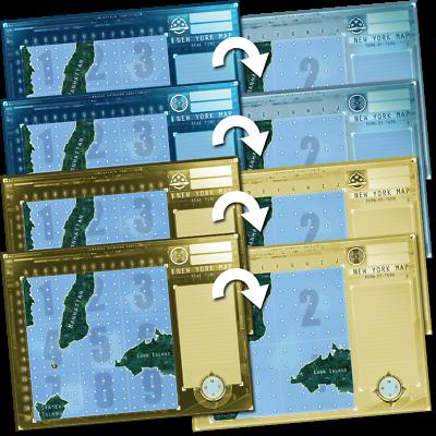 Captain Sonar Promo Maps Chicago Special Mission Vectrum New York /& Foxtrot