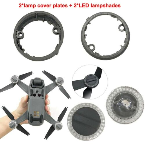 Lamp Cover Plate AndLED Lampshades for DJI Spark Spare Part Accessories