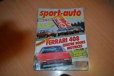 Sport Auto N°310 Porsche 962 PDK.AX GT / 205 XS / R5 GTX / Fiesta XR2 / Y10 T