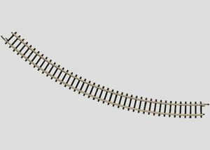 8520-Marklin-Z-scale-45-Degree-Curved-Track-Radius-195-mm-7-11-16-034-1each