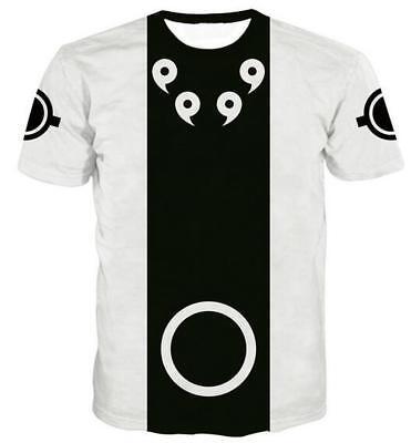 New Fashion Womens//Mens Naruto Mangekyo Funny 3D Print T-Shirt Summer Tops
