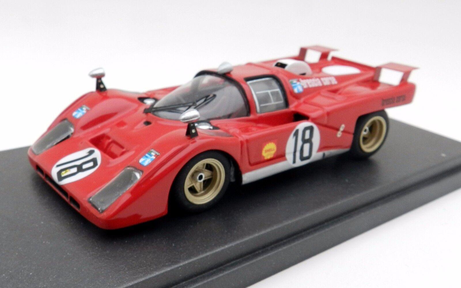 MG Model Ferrari 512M 4th Zeltweg 1971 Hand Built 1 43