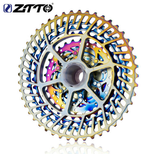 359G Bicycle Rainbow Cassette ZTTO 11 Speed 11-46T SLR 2  HG system Profession